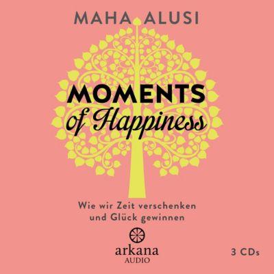 Moments of Happiness, 3 Audio-CDs, Maha Alusi