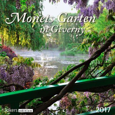 Monets Garten in Giverny 2017, Kalender