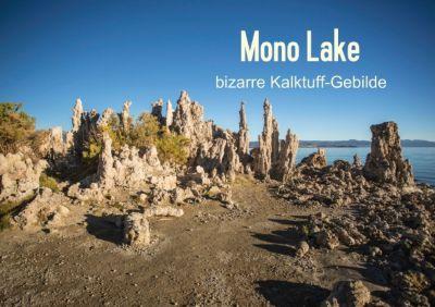 Mono Lake - bizarre Kalktuff-Gebilde (Tischaufsteller DIN A5 quer), Andrea Potratz