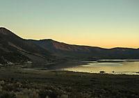 Mono Lake - bizarre Kalktuff-Gebilde (Tischaufsteller DIN A5 quer) - Produktdetailbild 4