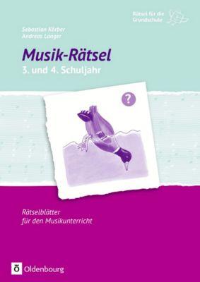 Musik-Rätsel 3. und 4. Schuljahr, Sebastian Körber, Andreas Langer