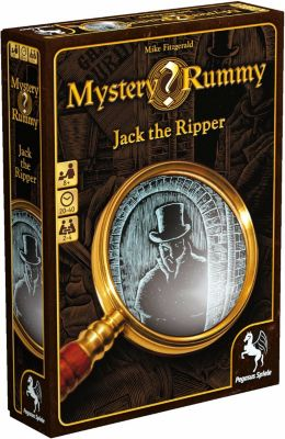 Mystery Rummy: Jack the Ripper (Kartenspiel), Mike Fitzgerald