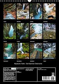 Mystische Tiefen - Die Klammen Österreichs (Wandkalender 2018 DIN A3 hoch) - Produktdetailbild 13