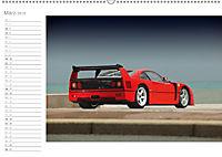 Mythos Ferrari F40 LM (Wandkalender 2018 DIN A2 quer) - Produktdetailbild 3