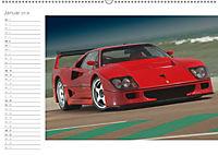 Mythos Ferrari F40 LM (Wandkalender 2018 DIN A2 quer) - Produktdetailbild 1