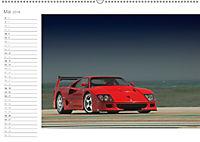 Mythos Ferrari F40 LM (Wandkalender 2018 DIN A2 quer) - Produktdetailbild 5