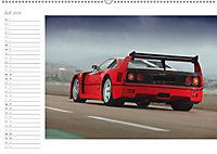 Mythos Ferrari F40 LM (Wandkalender 2018 DIN A2 quer) - Produktdetailbild 7
