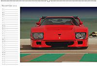 Mythos Ferrari F40 LM (Wandkalender 2018 DIN A2 quer) - Produktdetailbild 11
