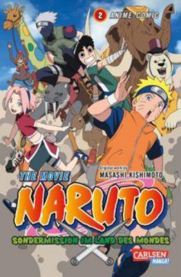 Naruto the Movie: Sondermission im Land des Mondes, Masashi Kishimoto