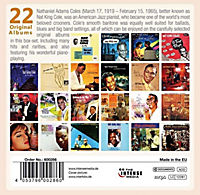 Nat King Cole -  Milestones of a Legend - 22 Original Albums , 10 CDs - Produktdetailbild 1