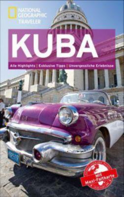National Geographic Traveler Kuba mit Maxi-Faltkarte, Christopher P. Baker