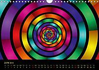 Neon Colours / UK-Version (Wall Calendar 2018 DIN A4 Landscape) - Produktdetailbild 6