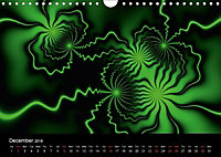 Neon Colours / UK-Version (Wall Calendar 2018 DIN A4 Landscape) - Produktdetailbild 12