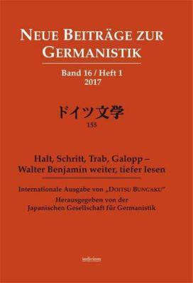 Neue Beiträge zur Germanistik, Band 16 / Heft 1 / 2017