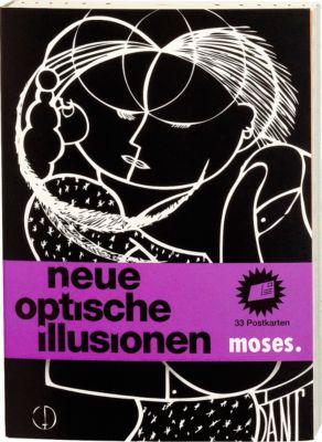 Neue Optische Illusionen, Postkartenbuch, Britta Waldmann