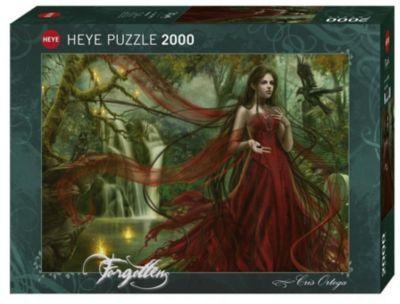 Forest Puzzle 1000 Teile Spiel Deutsch 2010 Puzzles Geduldspiel