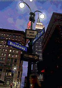 New York Like A Cartoon (Posterbuch, DIN A2 hoch) - Produktdetailbild 1