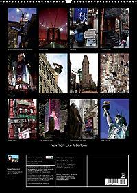 New York Like A Cartoon (Posterbuch DIN A3 hoch) - Produktdetailbild 13