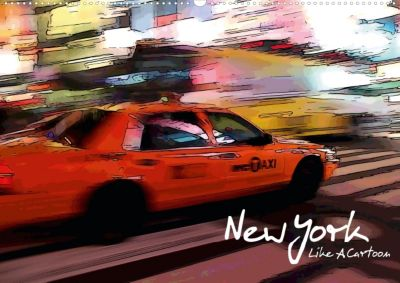 New York Like A Cartoon (Posterbuch DIN A3 quer), Reiner Silberstein