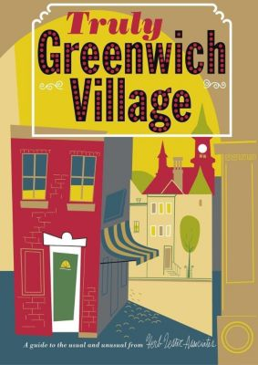New York: Truly Greenwich Village, map, Herb Lester Associates
