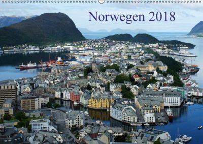 Norwegen 2018 (Wandkalender 2018 DIN A2 quer), Beate Bussenius