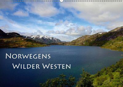 Norwegens Wilder Westen (Wandkalender 2018 DIN A2 quer) Dieser erfolgreiche Kalender wurde dieses Jahr mit gleichen Bild, Helene Seidl