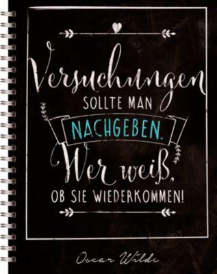 Notizbuch Oscar Wilde, noovio