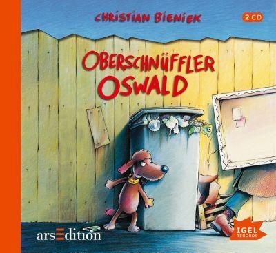 Oberschnüffler Oswald, 2 Audio-CDs, Christian Bieniek