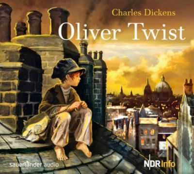 Oliver Twist, 1 Audio-CD, Charles Dickens