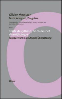 Olivier Messiaen - Texte, Analysen, Zeugnisse, Olivier Messiaen