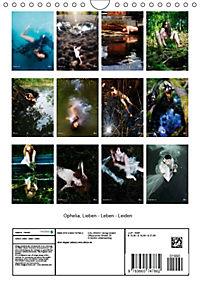 Ophelia, Lieben - Leben - Leiden (Wandkalender 2018 DIN A4 hoch) - Produktdetailbild 13
