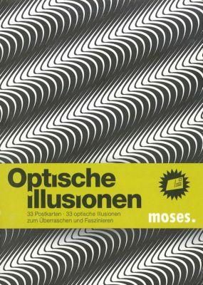 Optische Illusionen, Postkartenbuch, Britta Waldmann