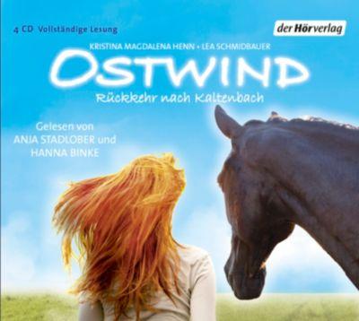 Ostwind Band 2: Rückkehr nach Kaltenbach (4 Audio-CDs), Lea Schmidbauer, Kristina M. Henn