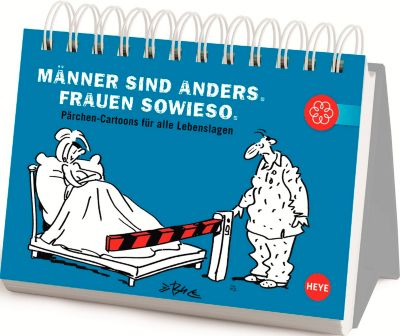 Pärchen-Cartoons für jeden Tag, Geschenkbuch