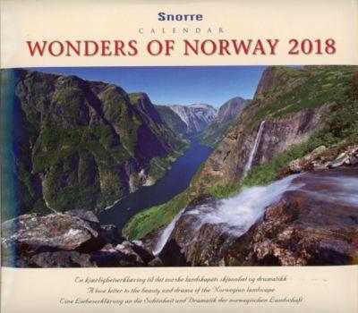 Panorama Norway 2018 Tischkalender, Aske Snorre