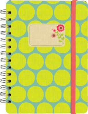 Papier & Feder Notizbuch Summer Garden Tupfen