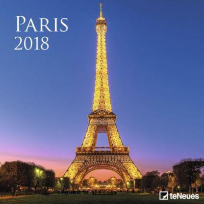 Paris, Broschürenkalender 2018