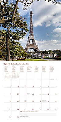 Paris, Broschürenkalender 2018 - Produktdetailbild 7