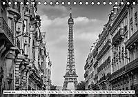 PARIS Monochrome Impressionen (Tischkalender 2019 DIN A5 quer) - Produktdetailbild 1