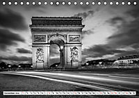 PARIS Monochrome Impressionen (Tischkalender 2019 DIN A5 quer) - Produktdetailbild 12