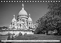 PARIS Monochrome Impressionen (Tischkalender 2019 DIN A5 quer) - Produktdetailbild 9