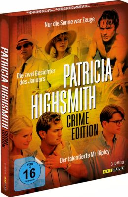 Patricia Highsmith Crime Edition, 3 DVD Box, Patricia Highsmith