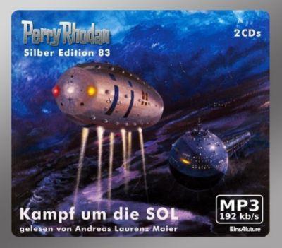 Perry Rhodan Silberedition Band 83: Kampf um die SOL (MP3-CD), Kurt Mahr, H. G. Ewers, Clark Darlton
