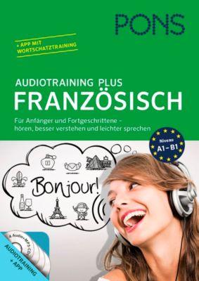 PONS Audiotraining Plus Französisch, Audio-CD + Begleitbuch