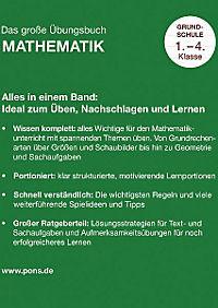 PONS - Das grosse Übungsbuch Mathematik - Produktdetailbild 1