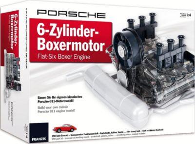 Porsche 6-Zylinder-Boxermotor - Flat-Six Boxer Engine: Bauen Sie Ihr eigenes klassisches Porsche-911-Motormodell!