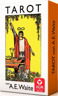 Premium Tarot von A. E. Waite, Tarotkarten (Pocketformat), Arthur E. Waite