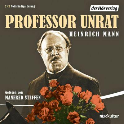 Professor Unrat, 7 CDs, Heinrich Mann