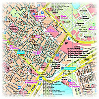 PUBLICPRESS Stadtplan Barcelona - Produktdetailbild 1