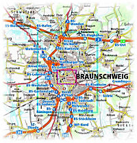 PublicPress Stadtplan Braunschweig - Produktdetailbild 1